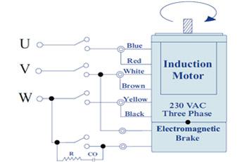 electromagnetic brake motor 180 watt ac motors manufacturer pune india